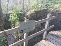 Rock Climbing Photo: A sign within the 'bouldering area' - located just...