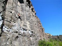 Rock Climbing Photo: x-box