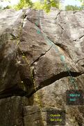 Rock Climbing Photo: Gueule de Loup Marche Noir 594