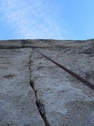 Rock Climbing Photo: Crack project