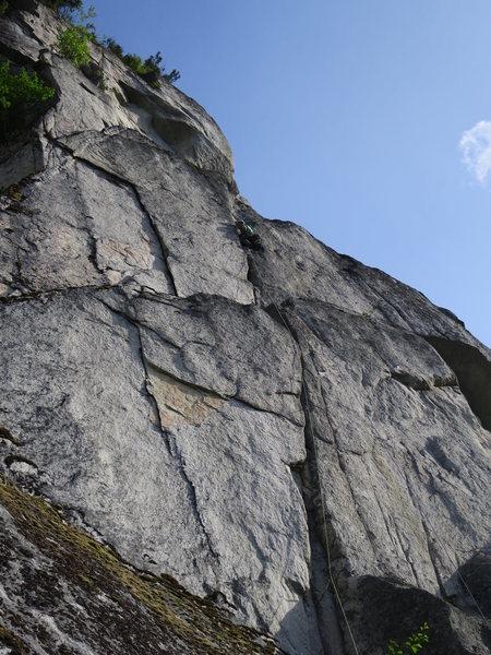 Rock Climbing Photo: P1 of Chilkoot Pass.