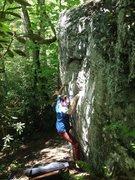 Rock Climbing Photo: Shell Station Swing