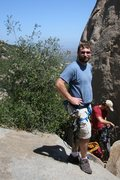 Rock Climbing Photo: Woodson, below tower two.