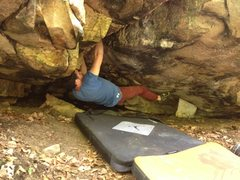 Rock Climbing Photo: Start of Tiny Roof