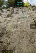 Rock Climbing Photo: Revenant Huggies 589