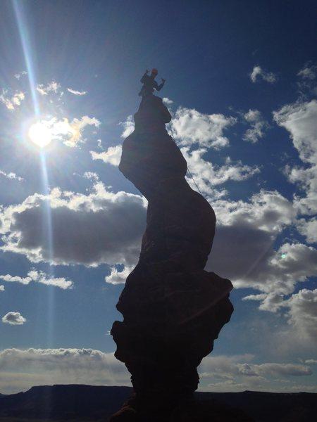 Rock Climbing Photo: Stolen Chimney