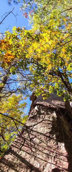 Rock Climbing Photo: Devils Lake, The Frigate Oct 13, 2013