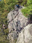 Rock Climbing Photo: Devils Lake, hanging around The Frigate Oct 13, 20...