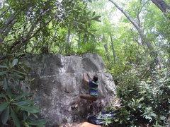 Rock Climbing Photo: DT Traverse