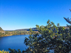 Rock Climbing Photo: Devils Lake, view from The Frigate  Oct 13, 2013