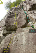 Rock Climbing Photo: Babord Tribord Le Diedre 596