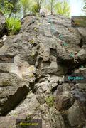 Rock Climbing Photo: Souvenir Renversante L'Entre Deux Plein les Mains ...