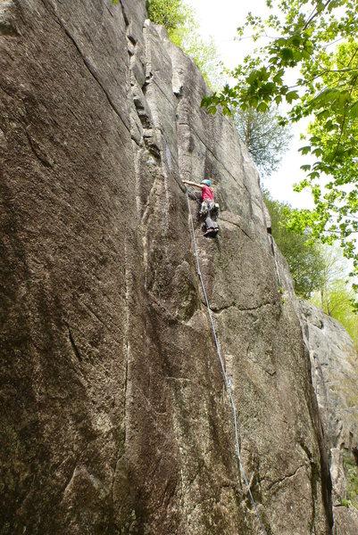 Rock Climbing Photo: M-E on Fruitee