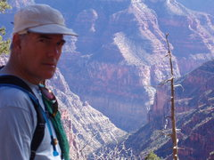 Rock Climbing Photo: Looking over the Kaibab Trail