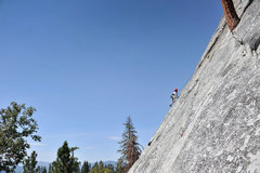 Rock Climbing Photo: Bryson (at 7 years old in this photo) climbs the r...