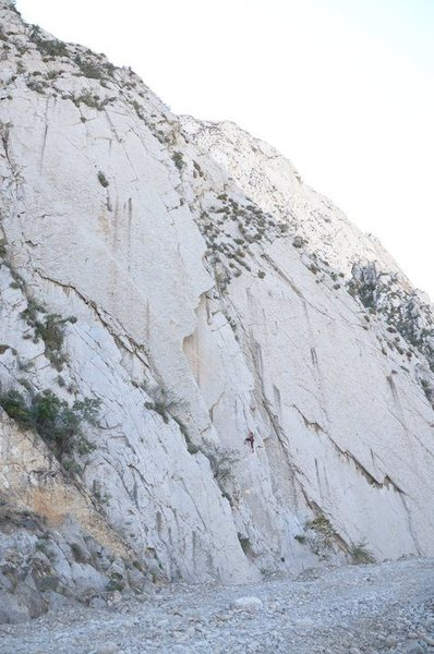 Rock Climbing Photo: A better photo of one of the first areas you come ...