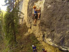 Rock Climbing Photo: Everything's Little in China, 5.11c