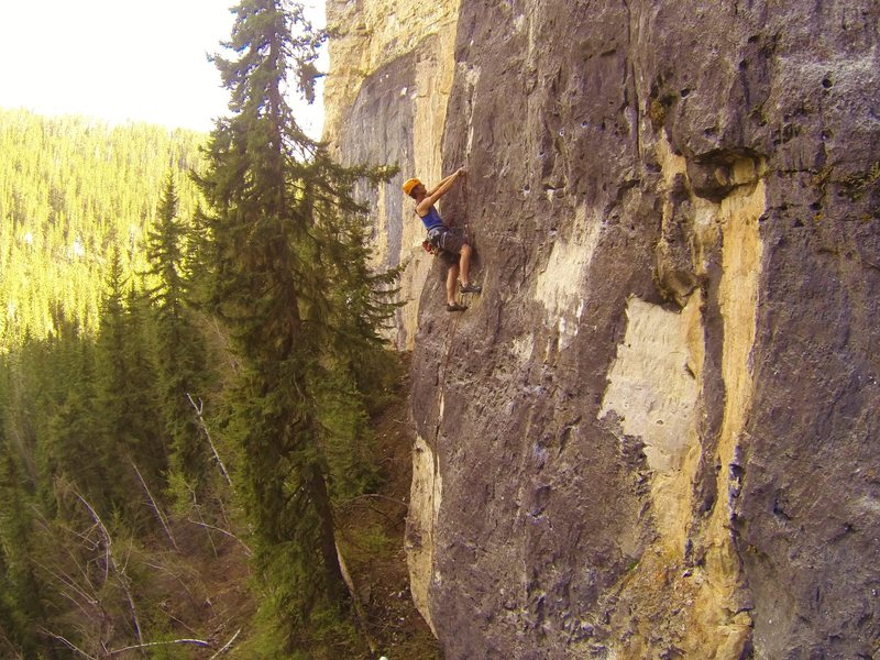 Everything's Little in China, 5.11c
