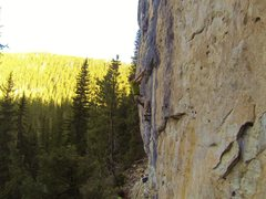 Rock Climbing Photo: Armageddon, 5.12a