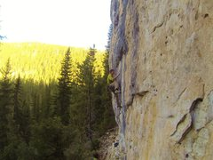 Rock Climbing Photo: Armageddon, 5.12a