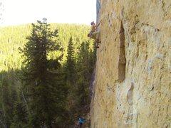 Rock Climbing Photo: First Blood, 5.12c