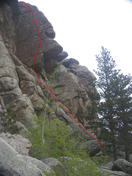 Rock Climbing Photo: Out Reach Upmanship