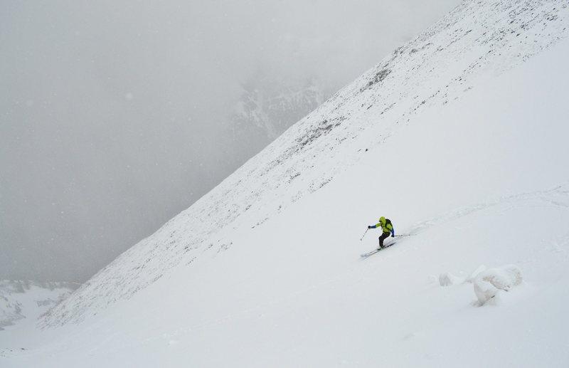 Rock Climbing Photo: Skiing Kelso  5/25/14