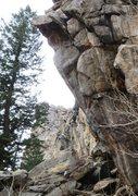 Rock Climbing Photo: The Beretta arete from the right.