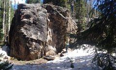 Rock Climbing Photo: Boulder.