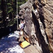 Rock Climbing Photo: Climbing.