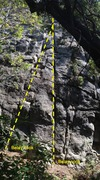 Rock Climbing Photo: Monsters with belay nooks