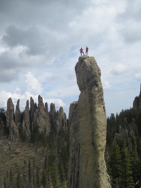 Rock Climbing Photo: More station 13