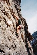 Rock Climbing Photo: Quite a few years ago.