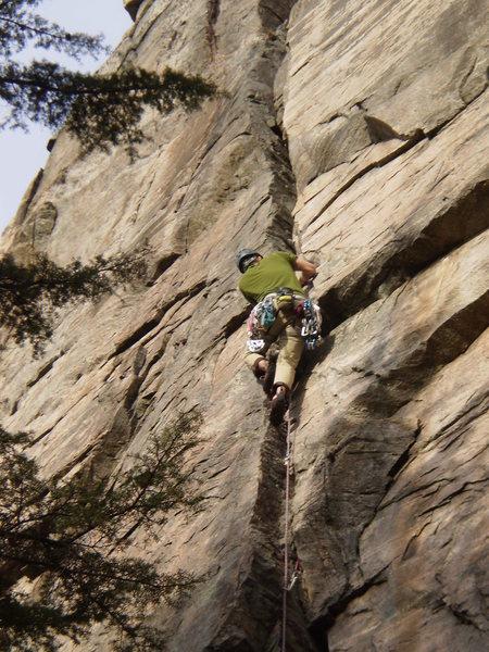 Rock Climbing Photo: Me somewhere in NC