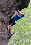 Rock Climbing Photo: Beretta, 5.14b, The Armory, Clear Creek Canyon.