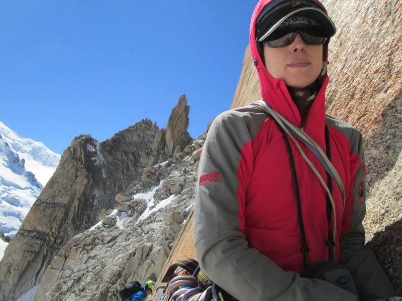 Rock Climbing Photo: Hard to beat the Midi's south aspect in good weath...