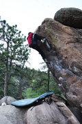 Rock Climbing Photo: Jug haul.