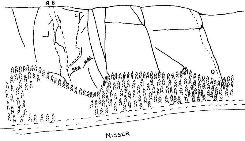 "Rock Climbing Photo: overview - ""lyngos und lyngmor"", ""n..."