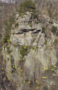 Rock Climbing Photo: Love Gap - Crag Overview