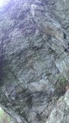 Rock Climbing Photo: Main face from the ground.