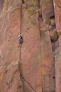 Rock Climbing Photo: Chionard's Crack, Smith
