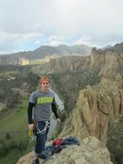 Top of Where Ever I May Roam, Smith Rock