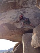 Rock Climbing Photo: Easing my nerves about the SW Corner Exposure with...