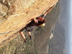 Rock Climbing Photo: Goofin around on top of Triton Tower.