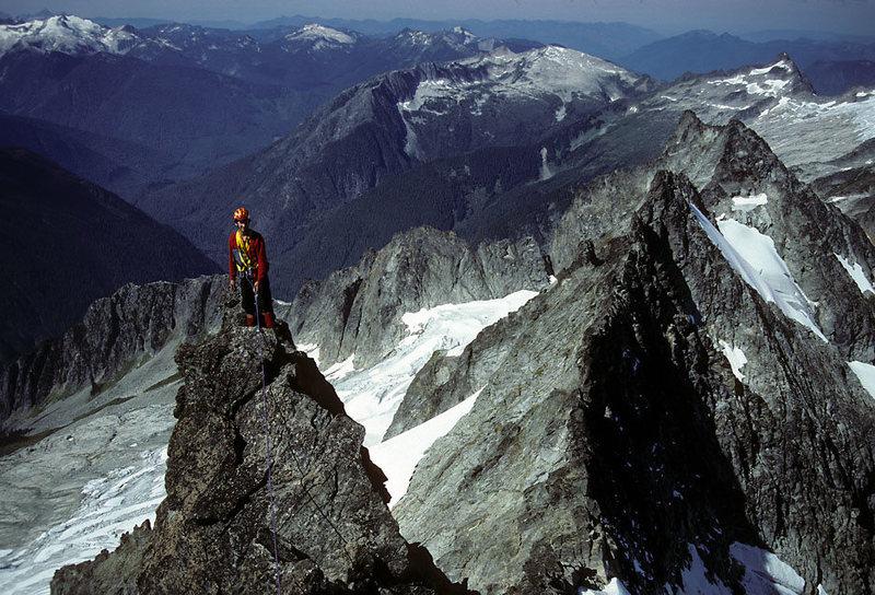Rock Climbing Photo: West Ridge, 1980s ascent