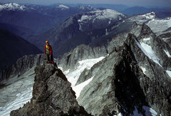Rock Climbing Photo: West Ridge, 1980s ascent