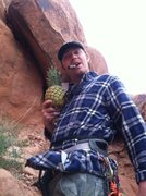 Rock Climbing Photo: Pineapple in Arches NP