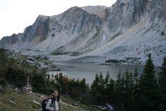Rock Climbing Photo: Me walking.