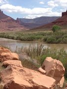 Rock Climbing Photo: Colorado River