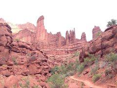 Rock Climbing Photo: Fisher Towers